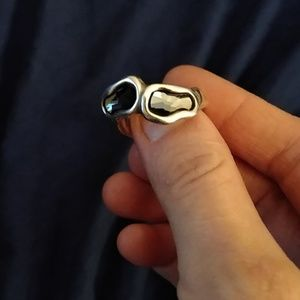 Ring size 8 sterling silver